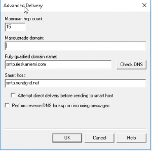 250 2.6 0 queued mail for delivery